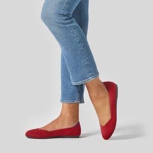 Red Rothy's Ballet Flats